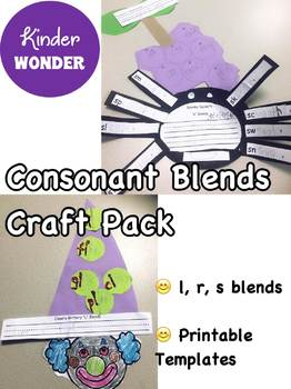 Consonant Blends Craft Bundle