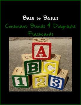 Consonant Blends & Diagraphs Flashcards