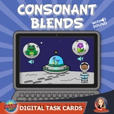 Consonant Blends Digital Boom Task Cards