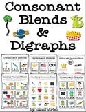 Consonant Blends & Digraphs Practice