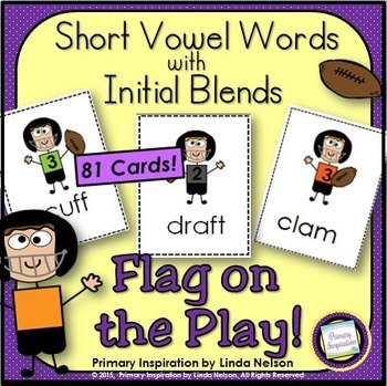 Consonant Blends Flag on the Play Game