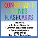 Consonant Blends Flashcards