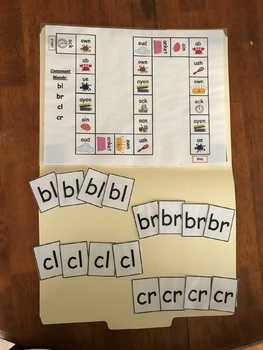 Consonant Blends Game