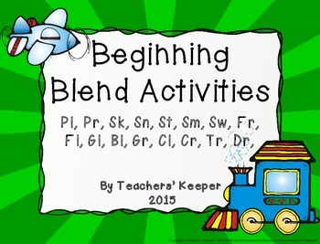 Consonant Blends Game and Practice