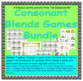 Consonant Blends Games Bundle