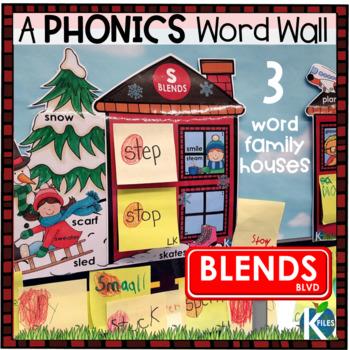 Consonant Blends Interactive Word Wall
