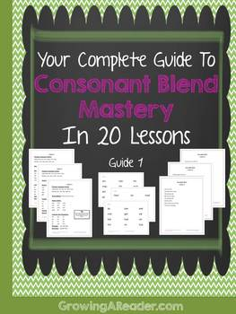 Consonant Blends Mastery Guide