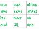 Consonant Blends Matching
