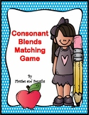 Consonant Blends Matching Game