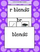 Consonant Blends Notebooking