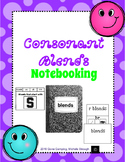Consonant Blends Notebooking