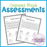 Consonant Blends Short Vowel Phonics Assessments