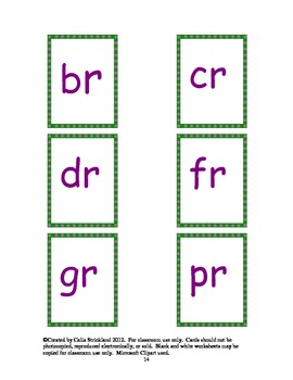 Consonant Blends Phonics Building Blocks Program