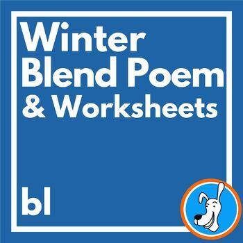 Blends: Consonant Blend /bl/ Poem and Skill Worksheets