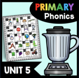 Consonant Blends Phonics Unit - Kindergarten and First Grade - Literacy Centers