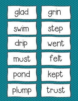 Consonant Blends Practice Unit