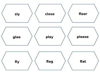 Consonant Blends Puzzle