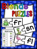 Beginning Blends Puzzles Center