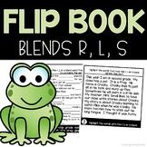 Consonant Blends R, L, S Flip Book | Teacher's Pets Journeys