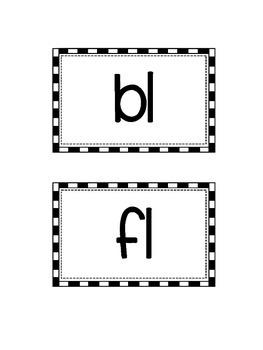 Consonant Blends (SPANISH)