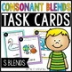 Consonant Blends Task Cards Bundle