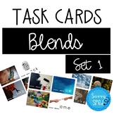 Consonant Blends Task Cards- Set 1 Great for Special Education