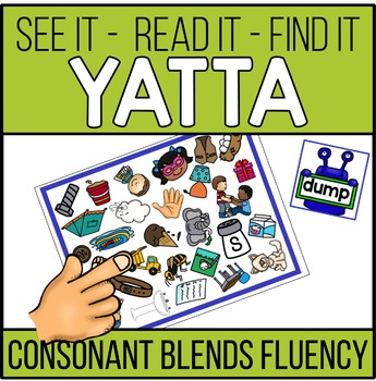 Consonant Blends Word Recognition and Fluency YATTA -In Co