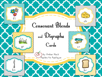 Consonant Blends and Digraphs Cards