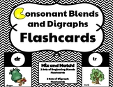 Consonant Blends and Digraphs Flashcards