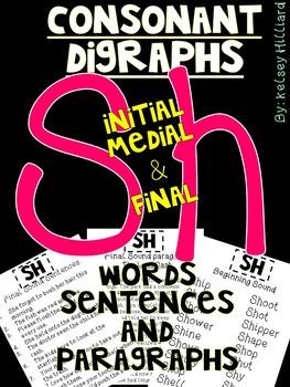 Consonant Blends for Sh (Initial, Medial & final) Sentence