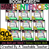 Consonant Blends in Sentences Boom Cards™️ | Digital Blend