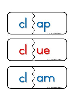 Consonant Blends l FREEBIE Puzzle
