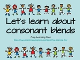Consonant Blends - let's learn the consonant blends #betterthanchocolate