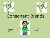 Consonant Blends thr spl PPT Powerpoint TEKS