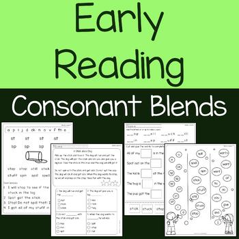 Consonant Blends with Short Vowels - Lessons, Reading Passages, & Questions