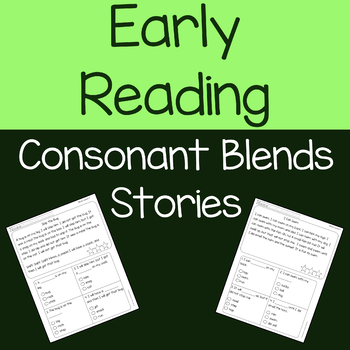 Consonant Blends with Short Vowels - Stories