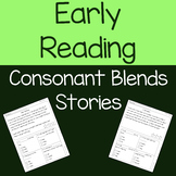 Consonant Blends with Short Vowels - Reading Passages & Comprehension Questions