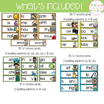 Consonant Build a Word - Phonics Alternative Spelling