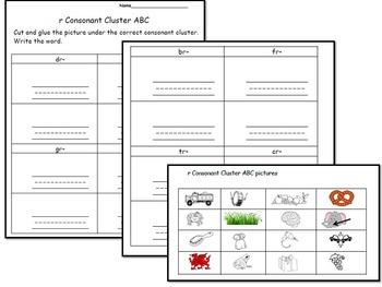 Consonant Cluster (Blends) L & R