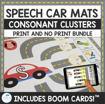 Consonant Cluster Car Mats for Articulation and Cluster Reduction