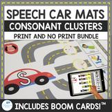 Consonant Cluster Speech Car Mats for Articulation Print a