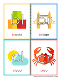 Consonant Cluster Flashcards (bl, br, cl & cr)
