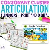 Consonant Cluster Flipbook BUNDLE - NO-PRINT & Printable Version
