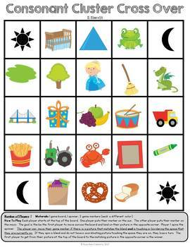 Consonant Cluster Games