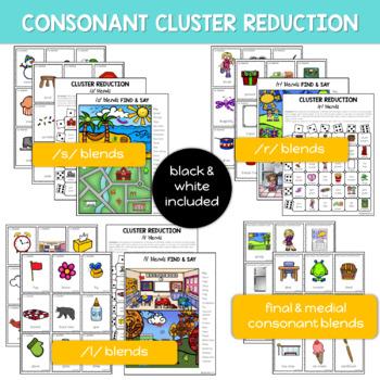 Consonant Cluster Reduction: Multi-Level Articulation Activities
