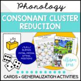 Consonant Cluster Reduction Multi-Level Activities