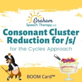 Consonant Cluster Reduction Boom Cards™ for the Cycles Approach