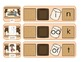 Consonant Cluster S'mores Game for s blends, l blends, and