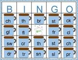 Consonant Cluster and Consonant Digraph Winter Bingo
