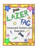 Consonant Clusters and Digraphs ( Lazer Tag Theme)
